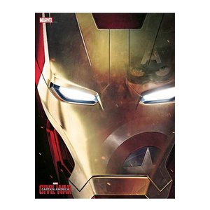 Marvel Comics Glass Poster Iron Man 30 x 40 cm