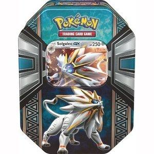 Pokemon TCG Solgaleo-GX Legends of Alola Tins
