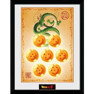 Dragonball Framed Poster Dragon Balls 45 x 34 cm