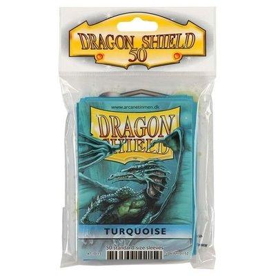 Dragon Shield Standard Sleeves Turquoise (50 Sleeves)