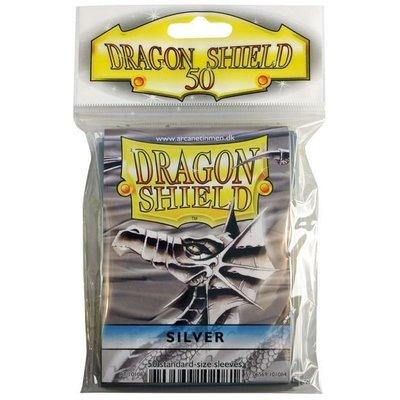 Dragon Shield Standard Sleeves Silver (50 Sleeves)