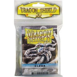 Dragon Shield Standard Sleeves Clear (50 Sleeves)