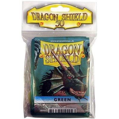 Dragon Shield Standard Sleeves Green (50 Sleeves)