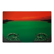 Dragon Shield Play Mat Green Red Zone