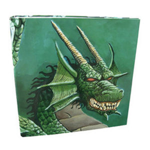 Dragon Shield Hardback 4-Ring Portfolio Binder Green Dragon