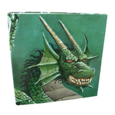 Dragon Shield Hardback 4-Ring Portfolio Binder Green Dragon