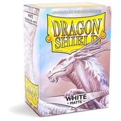 Dragon Shield Standard Sleeves Matte White (100 Sleeves)
