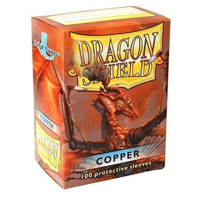 Dragon Shield Standard Sleeves Copper (100 Sleeves)