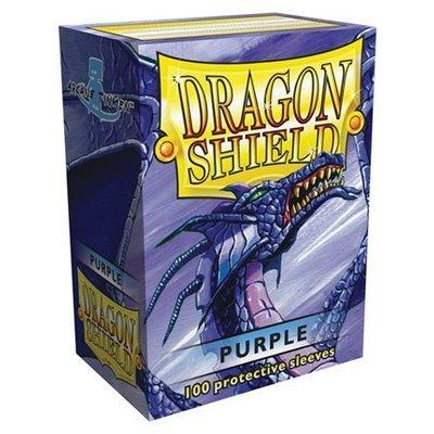Dragon Shield Standard Sleeves Purple (100 Sleeves)