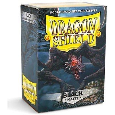 Dragon Shield Standard Sleeves Matte Black (100 Sleeves)