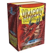 Dragon Shield Standard Sleeves Red (100 Sleeves)