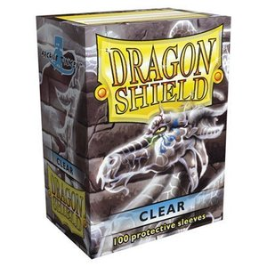 Dragon Shield Standard Sleeves Clear (100 Sleeves)