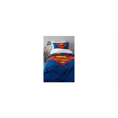 DC Comics Superman Dekbed 140x200/70x80 cm
