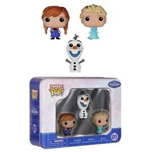 Disney Frozen 3-Pack Pocket Figures 4 cm