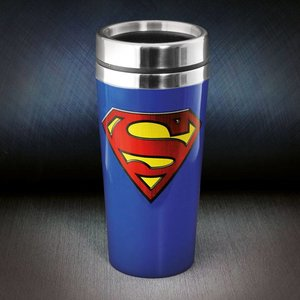 DC Comics Superman Travel Mug Logo