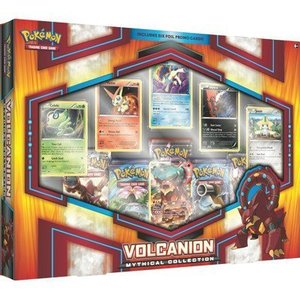 Pokemon TCG Volcanion Mythical Collection Box