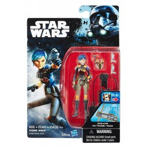 Star Wars Hasbro Rebels Action Figure 10 cm Sabine Wren
