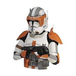 Star Wars The Clone Wars Bust Bank Commander Cody 20 cm