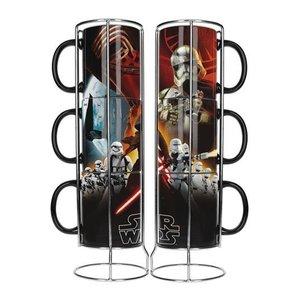 Star Wars Stackable Mugs Set Black First Order Exclusive