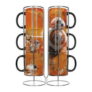 Star Wars Stackable Mugs Set BB-8 Droids
