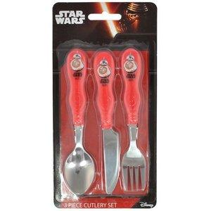 Star Wars Kids Cutlery 3-Set BB-8
