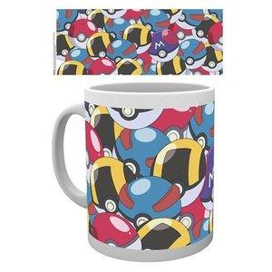Pokémon Mug Pokeballs