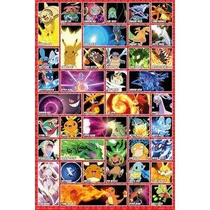 Pokémon Poster Moves