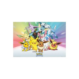 Pokémon Poster Eevee 61 x 91 cm