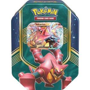 Pokemon TCG Volcanion Battle Heart Tin