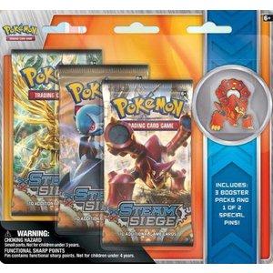 Pokemon TCG SET Volcanion & Shiny Mega Gardevoir Pin Blisters
