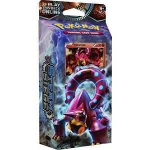 Pokemon TCG Steam Siege XY11 ''Gears of Fire'' Theme Deck - Volcanion