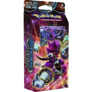 Pokemon TCG Steam Siege XY11''Rings of Lightning'' Theme Deck - Hoopa