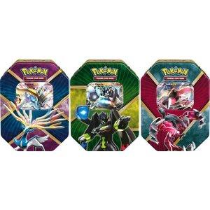 Pokemon TCG SET Shiny Kalos Tins