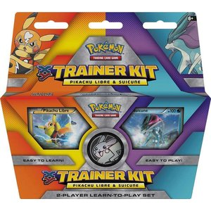 Pokemon TCG Pikachu Libre & Suicune XY Trainer Kit