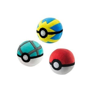 Pokémon Pluchen Net Ball 7cm
