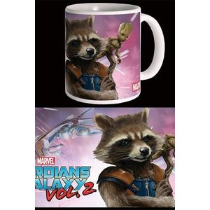 Guardians of the Galaxy Vol. 2 Mug Rocket