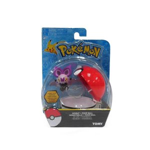 Tomy Pokémon Noibat + Poke Ball Clip'n'Carry Wave D8