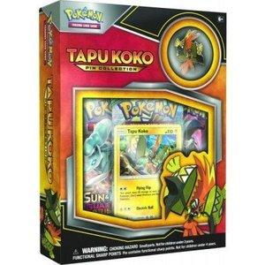 Pokemon TCG Tapu Koko Pin Collection