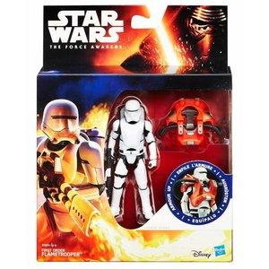 Star Wars Hasbro First Order Flametrooper Action Figure 2016 Armor Up Wave 1