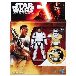 Star Wars Hasbro Finn (FN-2187) Action Figure 2016 Armor Up Wave 1