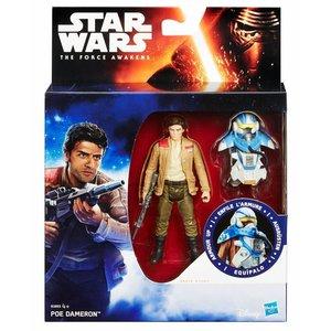 Star Wars Hasbro Poe Dameron Action Figure 2016 Armor Up Wave 1
