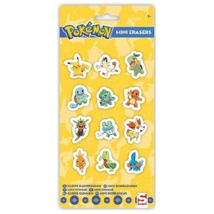 Pokémon Mini-Gummetjes 12-Pack
