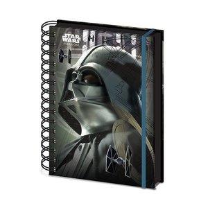 Star Wars Rogue One Schrijfblok A5 Darth Vader