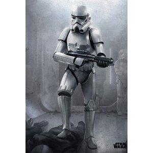 Star Wars Metalen Poster Stormtrooper 32 x 45 cm