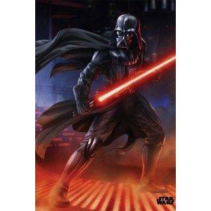 Star Wars Metalen Poster Episode IV Vader 32 x 45 cm