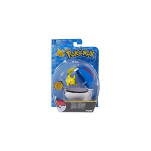 Tomy Pokémon Pikachu + Great Ball Clip'n'Carry Wave D7