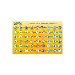 Pokémon Poster Partners 61 x 91 cm