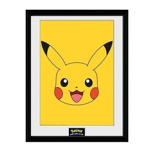 Pokémon Ingelijste Poster Pikachu 45 x 34 cm