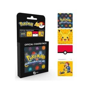 Pokémon Onderzetter 4-pack Mix