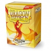 Dragon Shield Standard Sleeves Matte Yellow (100 Sleeves)